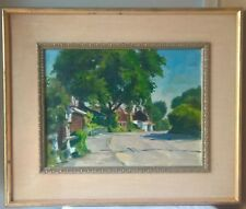 ROCKPORT ANTIQUE PLEIN AIR IMPRESSIONIST OIL PAINTING