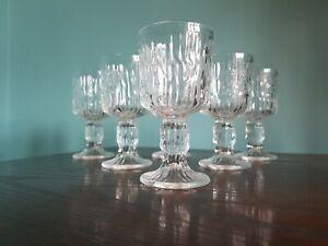 Vintage RAVENHEAD Siesta Glasses  - Ice Bark 70s X 6 2of2