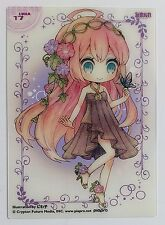 Megurine Luka mini clear card collection 3 ensky #17 vocaloid made in Japan