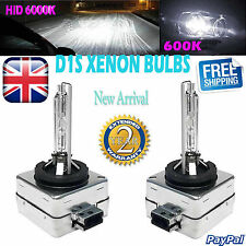 NEW 1 PAIR FOR VOLVO D1S 6000K 12V 35W HID XENON OEM REPLACEMENT HEADLIGHTS BULB