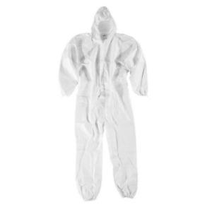 Mono microporoso antiestático ecowork blanco art.10460 tipo 5/6 con capucha