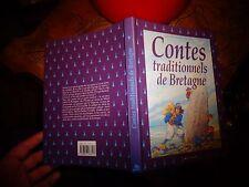 Contes Traditionnels de Bretagne Evelyne Brisou Pellen Ed Milan 1999