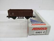 ENS65266 Arnold 5901 C Spur N Hochbordwagen DB 718 723 sehr guter Zustand