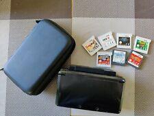 Nintendo 3DS  Handheld-Spielkonsole + 7 Spiele + Tragetasche