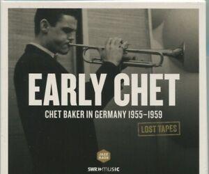 CD Chet Baker: Lost Tapes In Germany 1955 - 1959 (JazzHaus)