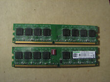 2x Kingmax 1GB (2GB total)  DDR2 1066  240 Pin DIMM