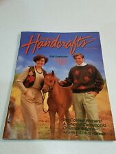 Vintage Country Handcrafts Magazine Autumn 1990 Fashions and Holiday Fancies