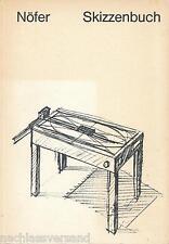 Zeichnungen WERNER NÖFER SKIZZENBUCH Pläne Skizzen Design Ideen Bilder Entwürfe