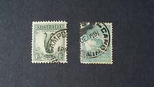 Australia Scott# 98, 141 Used F-Vf Lot# 70712