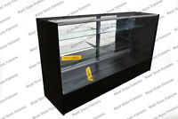 SC6 - 6' Full Vision Retail Glass Display Case in Four COLORS
