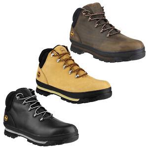 Timberland Pro Mens Splitrock Water Resistant Safety Boots Steel Toe Cap UK 6-12
