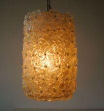 Barovier & toso Murano lamp Venetian Flower Basket flores cesta cristal lámpara Flores