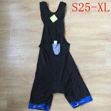Mens Cycling Bib Shorts Breathable Road Racing Clothing Bicycle Short Size:Xl