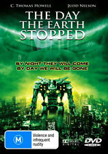 C Thomas Howell THE DAY THE EARTH  STOPPED - INTERGALACTIC GLOBAL ROBOT WAR DVD