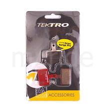 1 Pair Tektro Bike P20.11 Disc Brake Pads w/ Spring for Auriga/Orion/Volans NIB
