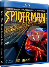 Spider-Man 1994 Animated Cartoon TV Series Complete Blu-Ray Set (Not DVD)