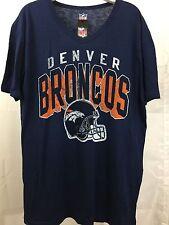 NEW NFL Men's Denver Broncos T-Shirt Size XXL Color blue