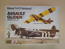 1/72 scale  Revell  WWII Assault Glider Waco GG-4A ( Makes 1 of 2 Versions )