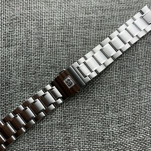 For SBGA407 Steel band Grand SEIKO Elegance Collection blue Snowflake Bracelet