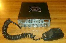 EUC 5/2010 COBRA 29 WX NW ST Sound Tracker CB RADIO w/ Microphone~40 Ch~Lot Ca