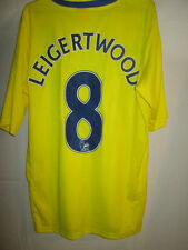 Lecture leigertwood match worn away 2012-2013 Football Chemise Avec COA / 15435