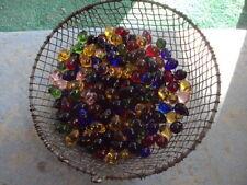 40 pc Big 26mm vintage Czech glass fruit Lamp Grapes prisms Quarter Size