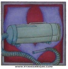 "phish alPHabet MAGNETS 2""x2"" letter V for vacuum ( by KERRIGAN )"