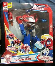Transformers ANIMATED SUPREME ROLL OUT OPTIMUS PRIME MIB 2008 COMP.