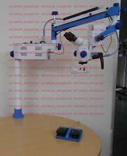 Portable ENT Surgical Microscope 3 Step Head Binocular tubes straight 90 degree