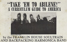 Take 'Em To Abilene!, Franklin House Soultrain & Back Packing Harmonica Band '72