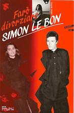 (FARO' DIVORZIARE SIMON LE BON) LIBRO NUOVO DA SPOSERÒ SIMON LE BON (PANINARO)