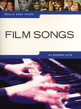 Really Easy Piano Film Songs Learn to Play Beginner Keyboard Music Book