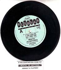 MENTAL AS ANYTHING If You Leave Me Can I Come Too? record + juke box title strip