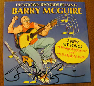 BARRY MCGUIRE STORE - I PLEDGE ALLEGIANCE & MR. HAKK N KOFF CD - NEW