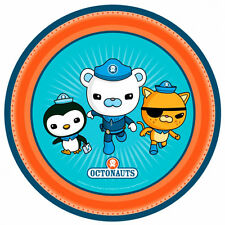 8 Octonauts Party Adventure Barnacles Kwazii Peso Disposable 9in Paper Plates