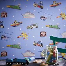 Arthouse Zoom Vehículo Papel pintado para niños F1 COCHE Y MOTO avión barco