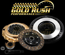 GOLD STAGE 2 CLUTCH KIT+RACE FLYWHEEL 94-01 ACURA INTEGRA B18 1.8 B-SERIES HYDRO