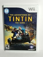 The Adventures of Tintin: The Game (Nintendo Wii, 2011) CIB Tested
