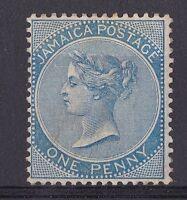 DB171) Jamaica 1884 1d Blue, SG 17