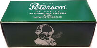 Peterson 9mm Charcoal Pipe Filters (Pack of 40)