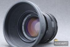 Canon FD 50mm 1:1.4 Objektiv Lens Lichtstark Festbrennweite digital adaptierbar