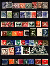 Netherlands 1872-1963 Mostly Mint Lot Queen Wilhelmina, Numerals 51 items
