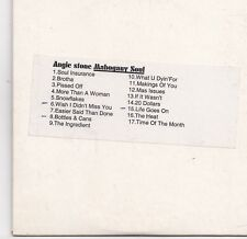 Angie Stone-Mahogany Soul promo cd album