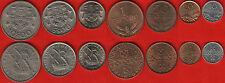 Portugal set of 7 coins: 10 centavos - 10 escudos 1963-1986 UNC