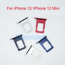 New OEM Single Dual Nano Sim Card Tray Holder Cover For Apple iphone 12/ 12 Mini