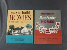 Home Construction Book Blueprints & Specs. EASY to BUILD & POPULAR HOMES ~ 1958