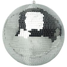 Soundlab Silver 500mm Lightweight DJ Disco Party Mirror Ball Disco Mirrorball