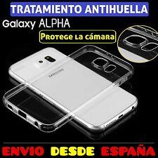 Funda TPU de gel silicona transparente para Samsung Galaxy Alpha carcasa