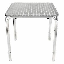 Silver Outdoor Tables