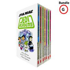 Stars Wars Jedi Academy Series Collection 7 Books Set Fiction Paperback